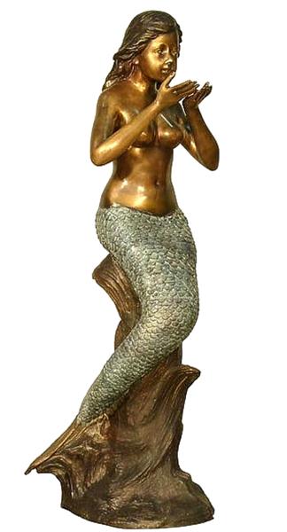Bronze Mermaid Fountains - AF 94064