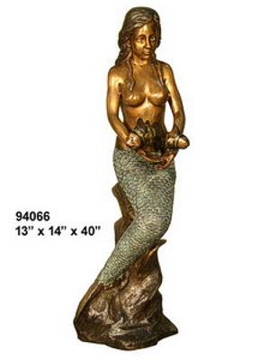 Bronze Mermaid Fountains - AF 94066