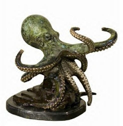 Bronze Octopus Statues - AF 94120NA