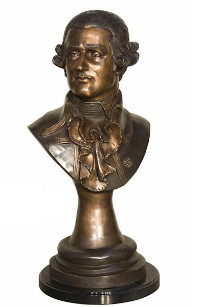 Bronze Mozart Bust - AF 94274MTT