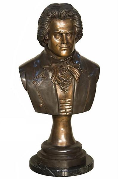 Bronze Beethoven Bust - AF 94278MTT