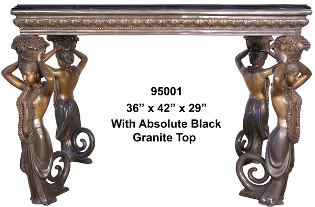Bronze Console Table - AF 95001