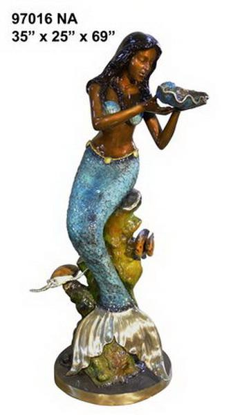 Bronze Mermaid Fountains - AF 97016NA