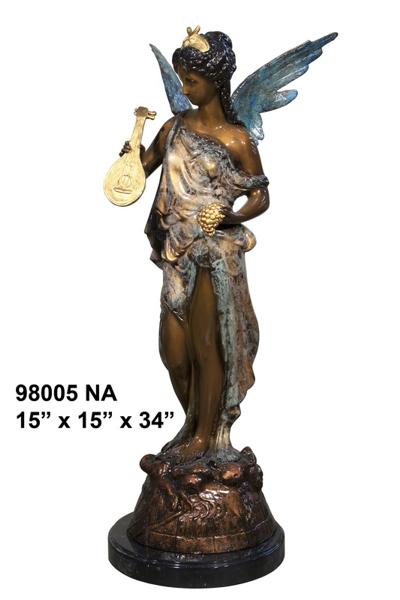 Bronze Angel Statue - AF 98005NA