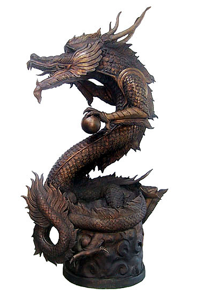 Bronze Dragon Fountains - DD A-138-F