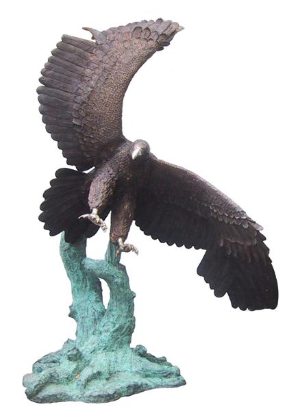 Bronze Eagle Statues - DD A-195