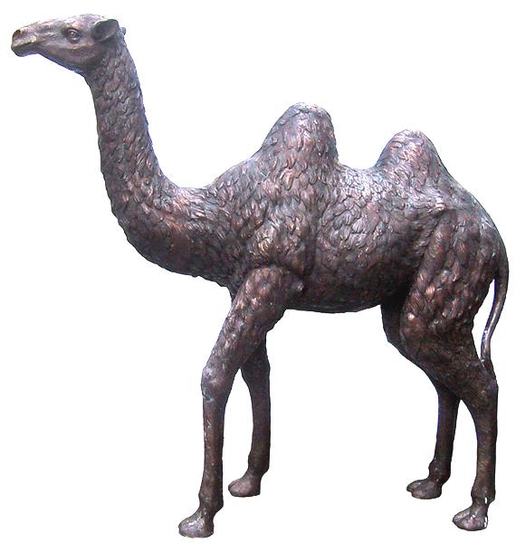 Bronze Camel Statues - DD A-197