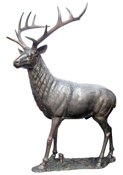 Bronze Deer Buck Statues - DD A-205
