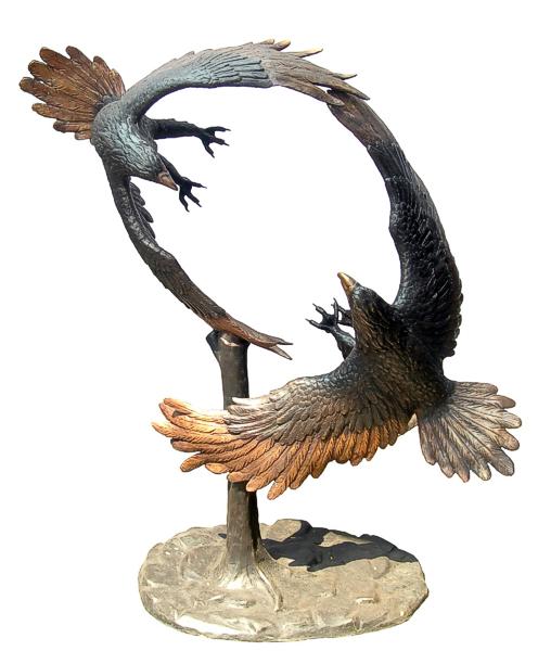 Bronze Eagle Statues - DD A-231