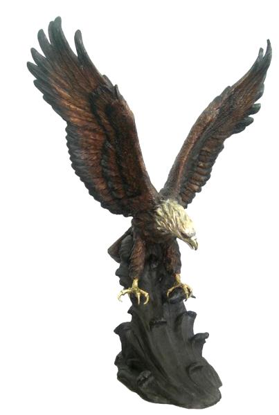Bronze Eagle Statues - DD A-234