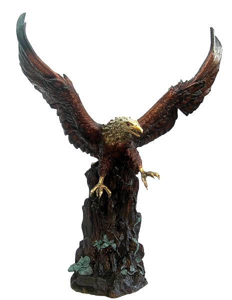 Bronze Eagle Statues - DD A-235