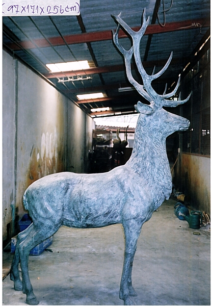 Bronze Deer Statue - DD A-286
