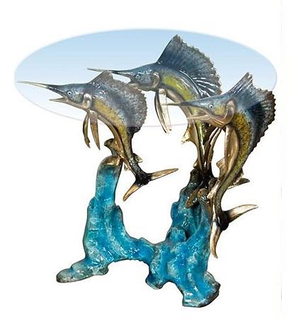 Bronze Swordfish End Table - AF 94222NA