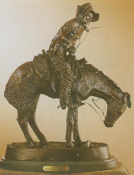 Bronze Remington Norther Statue (Prices Here) - ASB 009