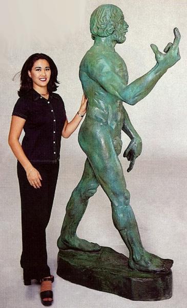 Bronze John The Baptist Statues - ASB 710