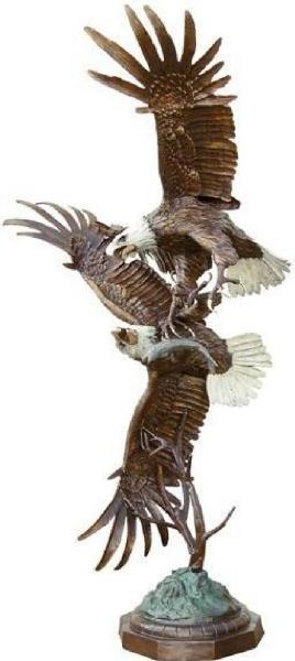 Bronze Eagle Statues - ASB 786