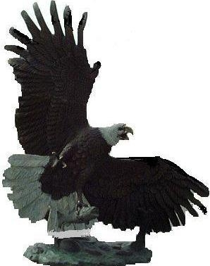Bronze Eagle Statues - ASB 866