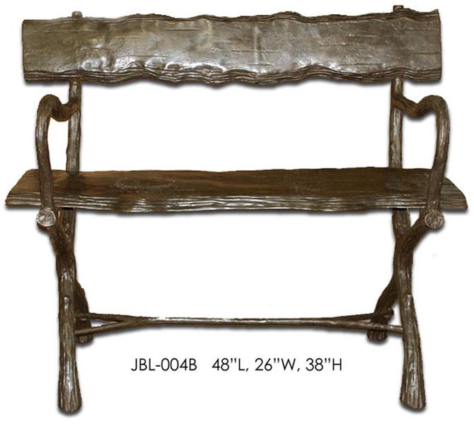 Bronze Benches - ASI JBL-004B