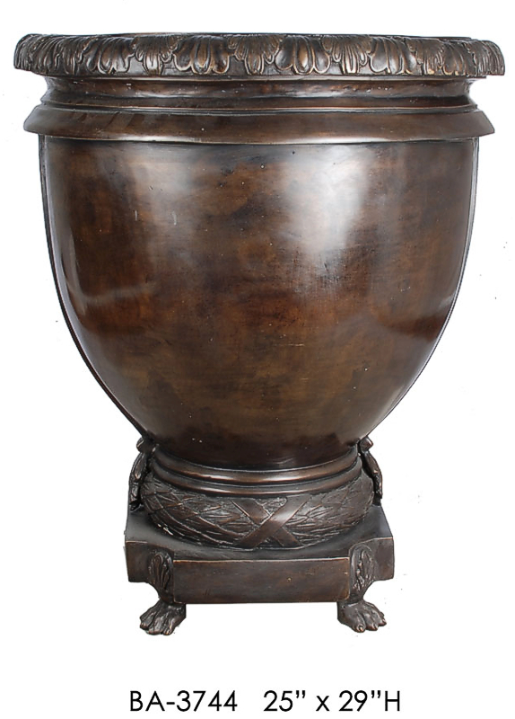 Bronze Planter Urn - ASI BA-3744
