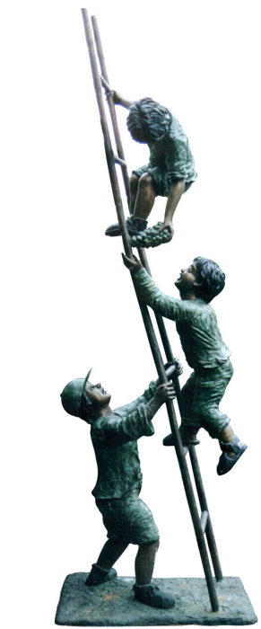 Bronze Children Statues - DD G-060A