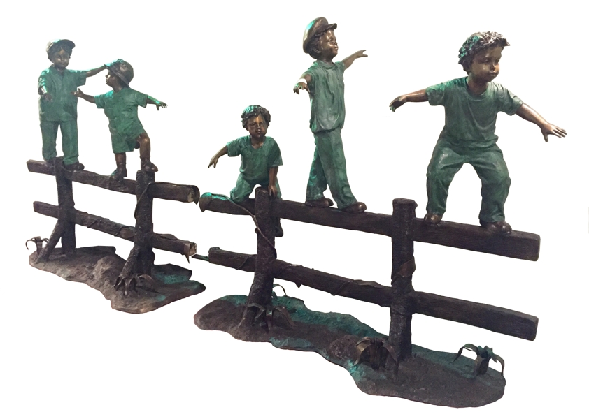 Bronze Children Statues - ASI BQ-E905