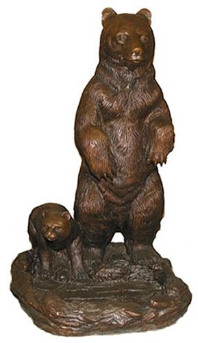 Bronze Bear Statues - ASI BQ-E983