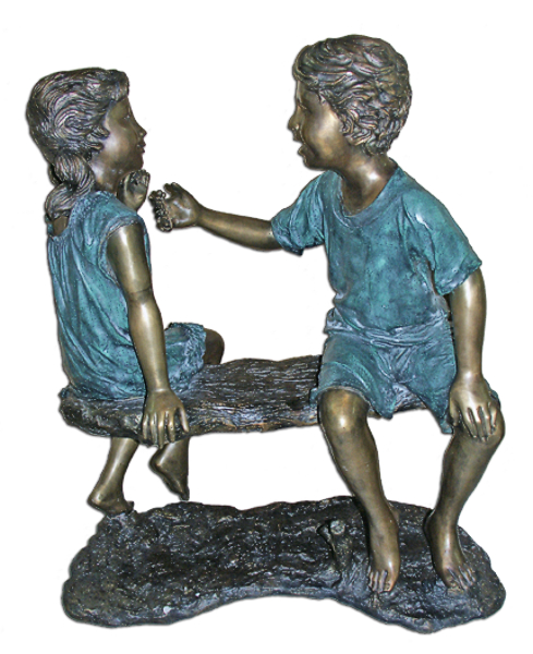 Bronze Children Bench - ASI BQ-G291