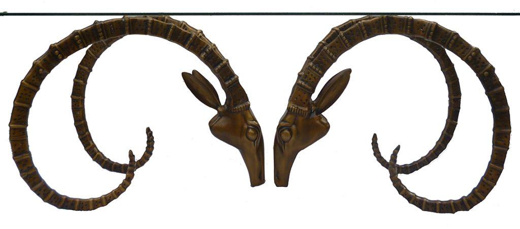 Bronze Gazelle Coffee Table - DK 1