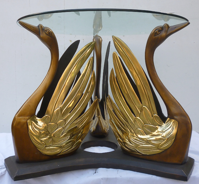 Bronze Swans Table - DK 45