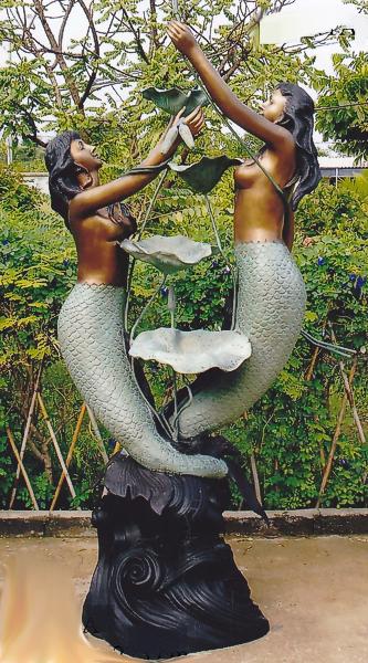 Bronze Mermaid Statues - DK 1279A-S