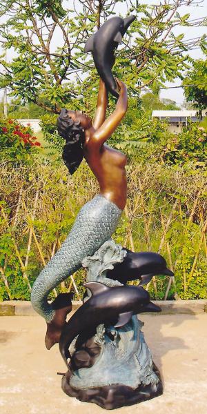 Bronze Mermaid Statues - DK 1283A-S