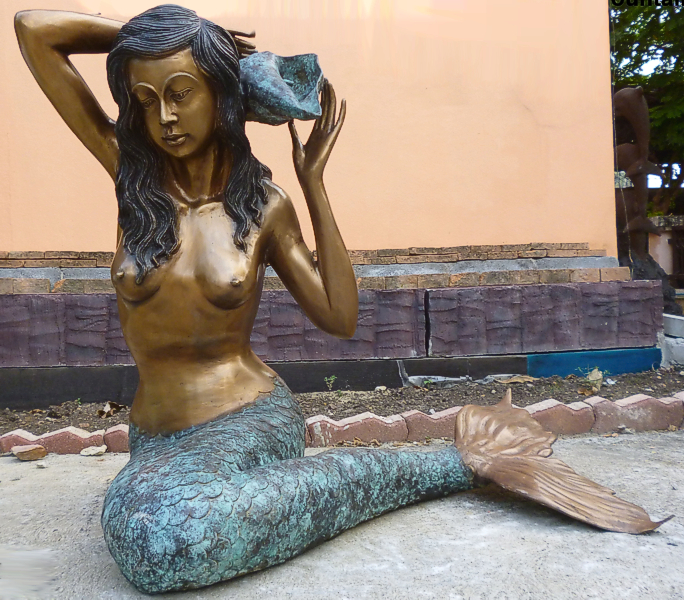 Bronze Mermaid Statues - DK 1302A-S