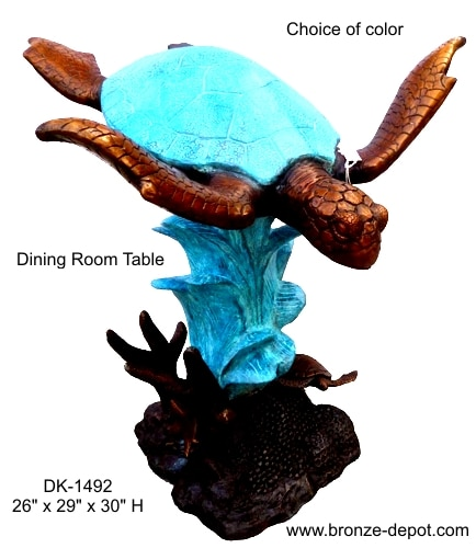 Dining Room Turtle Table - DK 1492