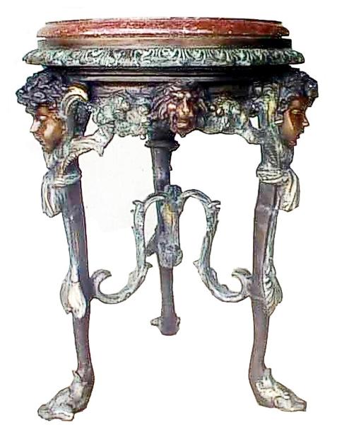 Bronze Corner Table - DK 1520