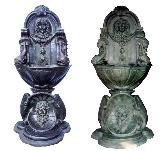 Bronze Wall Fountain - DK 1704