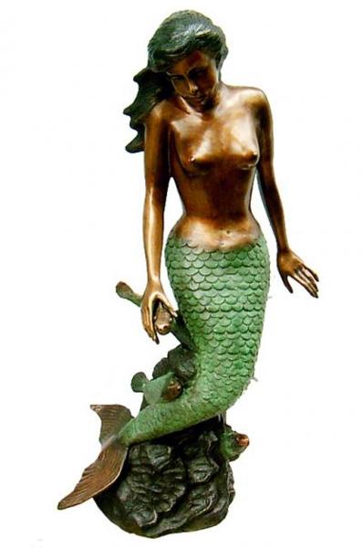 Bronze Mermaid Statues - DK 1847-S