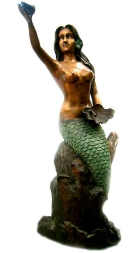 Bronze Mermaid Statues - DK 1984-S