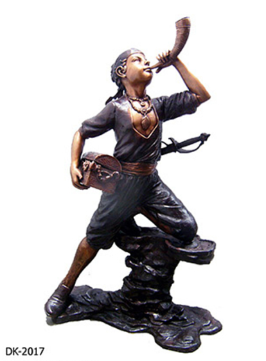 Bronze Boy Pirate Statue - DK 2017