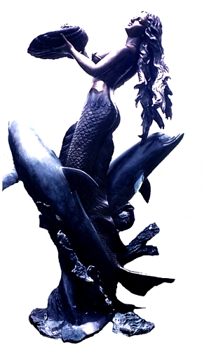Bronze Mermaid Statues - DK 2247-S