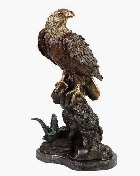 Bronze Eagle Statues - DK 2495