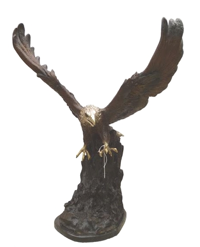 Bronze Eagle Statues - DK 2497
