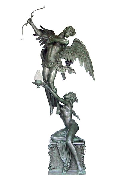 Bronze Angel Statue - DD E-151A