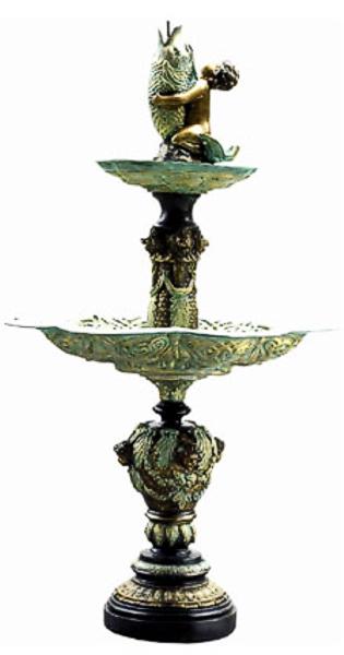 Bronze Tiered Fountain - DD F-017