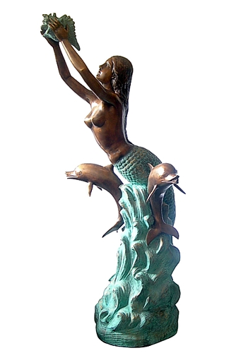 Bronze Mermaid Statues - DD F-023-S