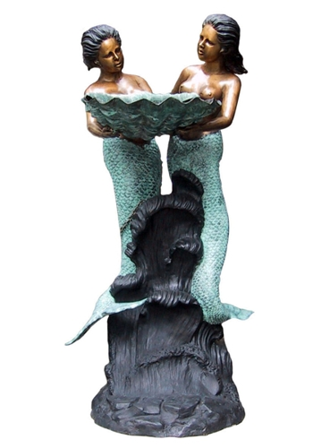 Bronze Mermaid Statues - DD F-034-1