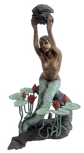 Bronze Mermaid Statues - DD F-055-S