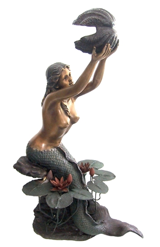 Bronze Mermaid Statues - DD F-055L-S