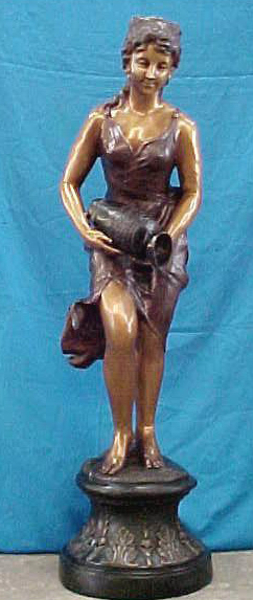 Bronze Lady Fountain - PA F-1006B