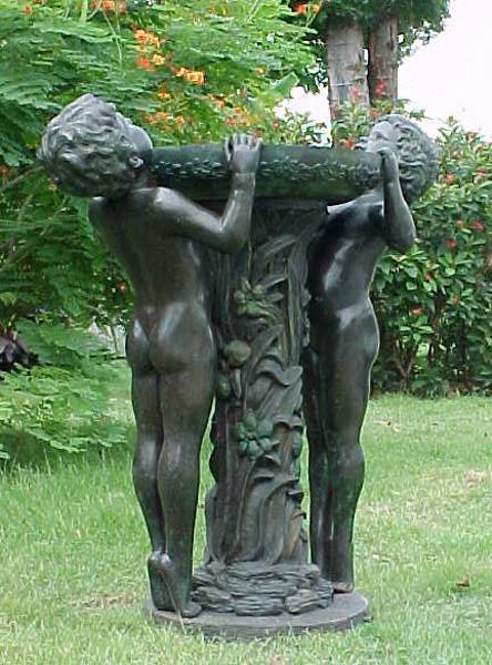 Bronze Boys Fountain - PA F-1028