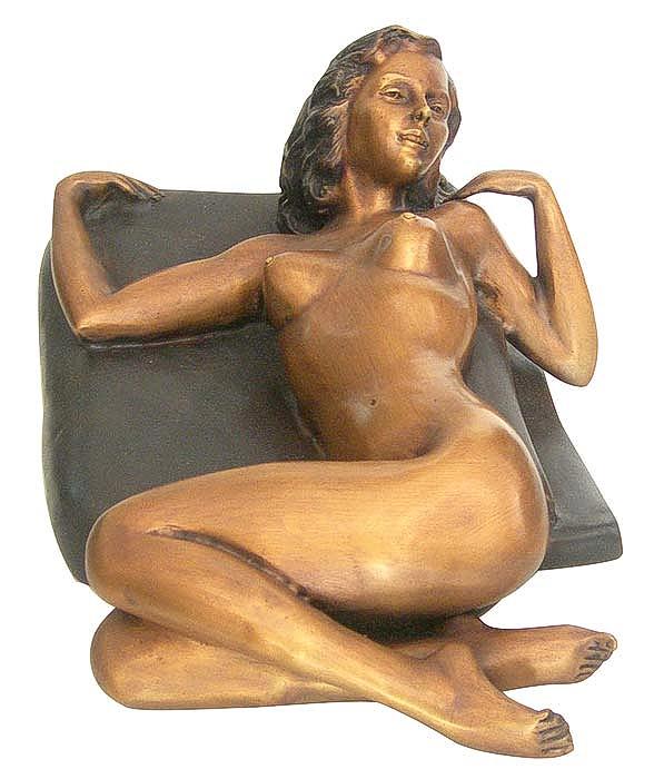 Bronze Erotic Nude Sculpture - CP FG0303